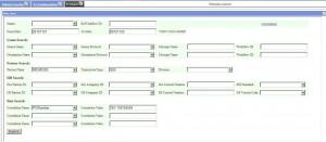 Framework Search Screen