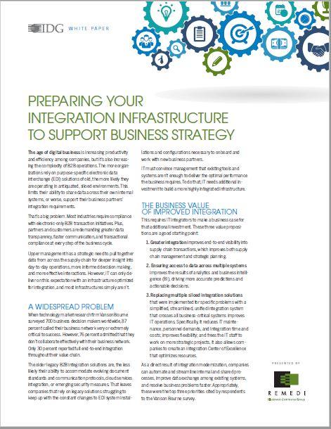 Preparing Your Integration Infrastructure
