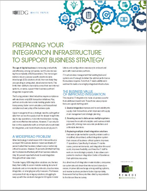 Preparing Your Integration Infrastructure
